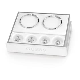 ORECCHINI GUESS HOOPS I DID IT - UBS84006