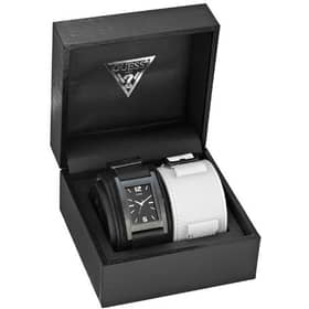 OROLOGIO GUESS MALE BUCKLE UP - W10609G1